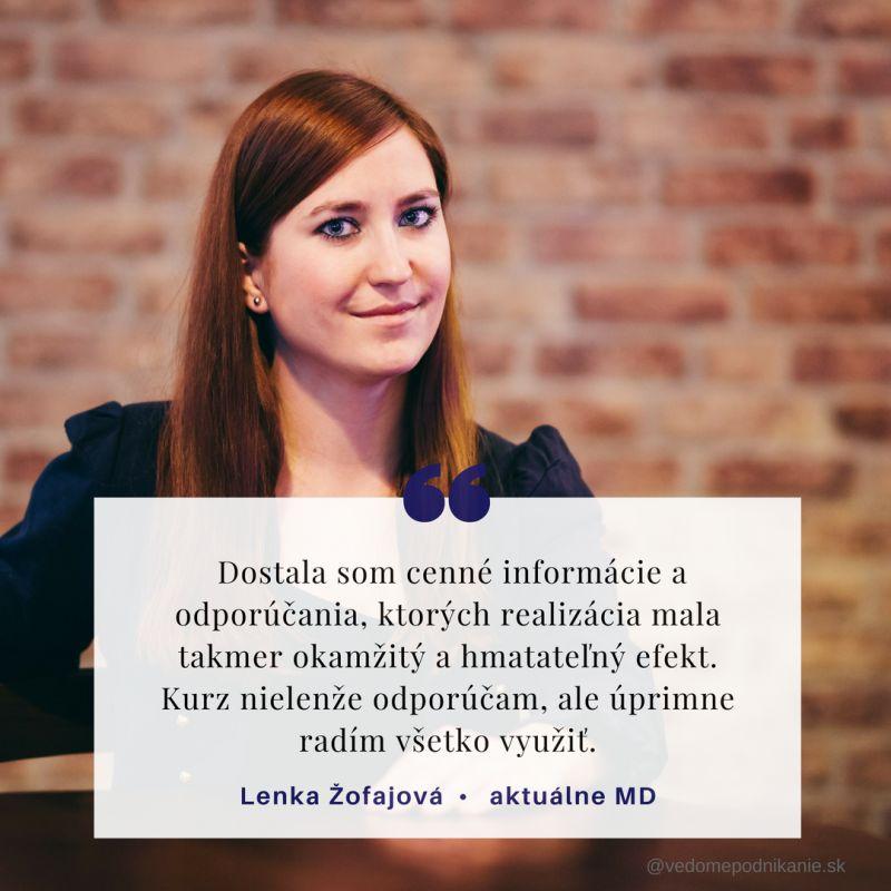 Lenka Žofajová